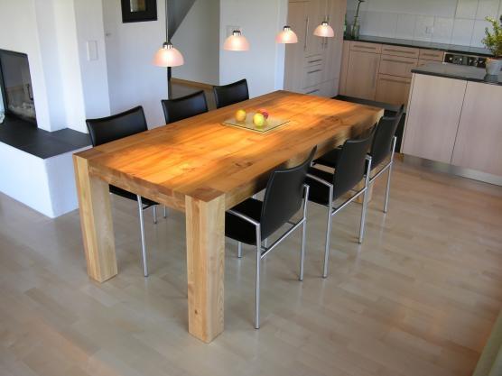 Esstisch Smartline H ~ Maßgefertigte Tische aus hochwertigem Massivholz  jetzt konfigurieren &