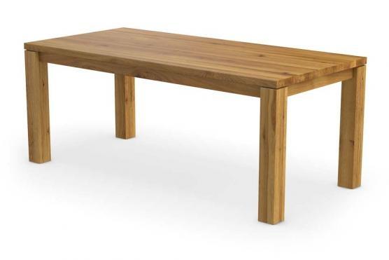Massivholztische auf ma beim marktf hrer f r masstische for Holztisch eiche