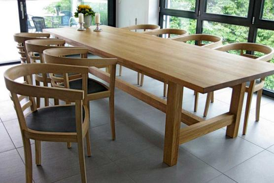Maßgefertigte Tische aus hochwertigem Massivholz - jetzt ...