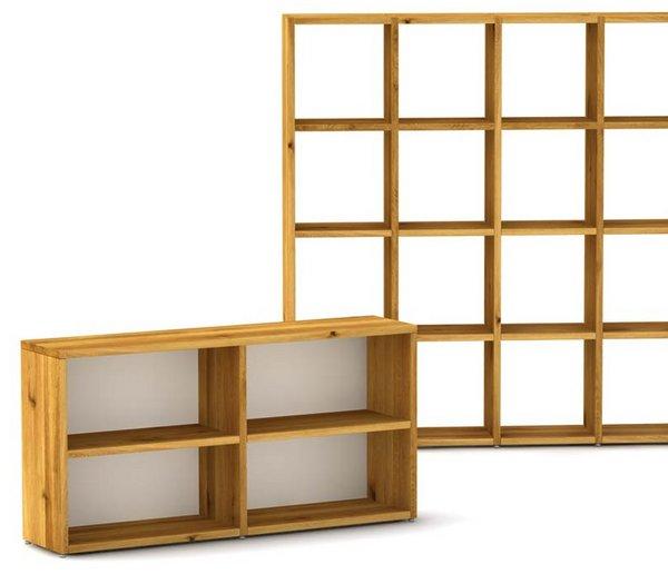 Konfigurator für Massivholzregale, Bücherregale | masstisch.de